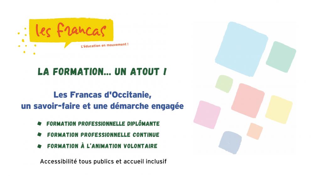Vidéo de présentation formations Francas d'Occitanie